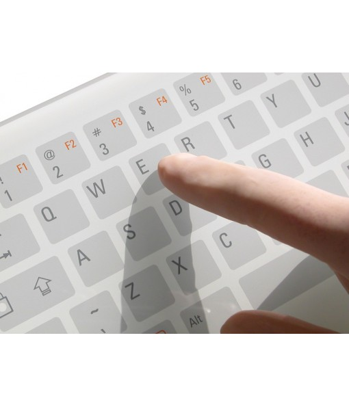 Clavier tactile extra plat
